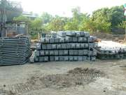 Piles For Swimming Pool And Retaining Wall