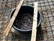 Form And Rebar For Manhole Cover